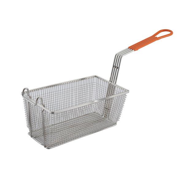 "Winco Winco FB-10 Fryer Basket 12-1/4""L x 6-1/2"" W x 5-1/4"" H"