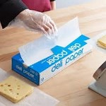 """Durable Packaging SW-12 Interfolded Deli Wrap Wax Paper, 12"""" x 10 3/4"""""""
