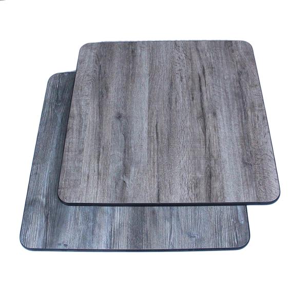 """Klinger's Trading Klinger's Trading GKO3030 Table Top, 30 x 30"""", reversible , gray/Knotty oak"""
