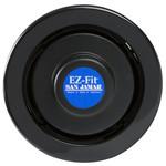 "San Jamar San Jamar C 2210 CBK Euro EZ-Fit In-Counter  Cup Dispenser with Black Gasket - 23.25"" Long"