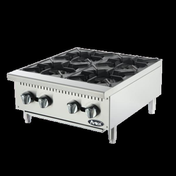Atosa Atosa ACHP-4  Cookrite Hotplate, Countertop, Gas, 4 Burners