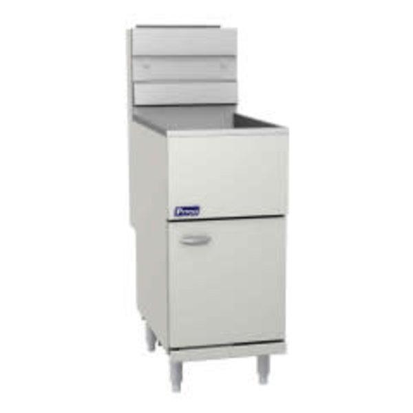 Pitco Pitco E35 Electric Fryer, Floor Model, 35 lbs. Oil Capacity