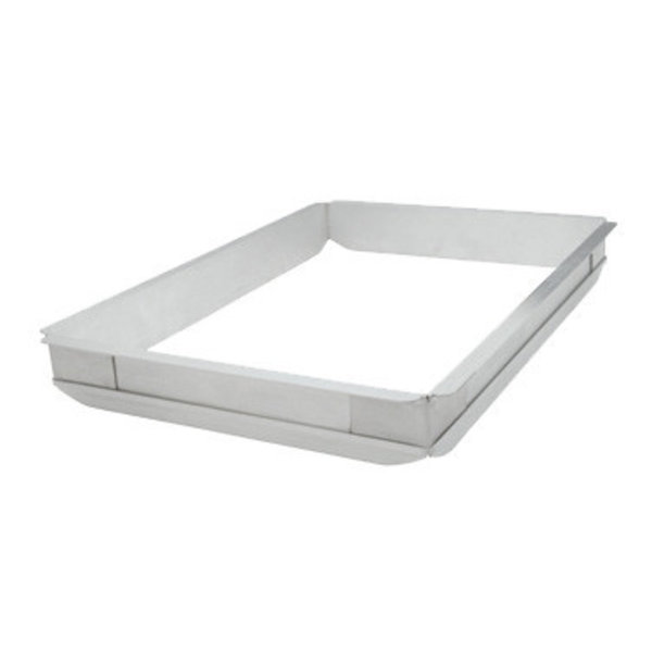 Winco Winco AXPE-2 Sheet Pan Extender, Half Size, Flat Top Edges