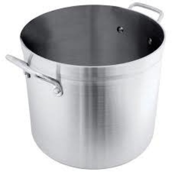 Crestware Crestware POT60 Heavy Duty Stock Pot, Aluminum, 60 qt.