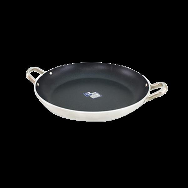 "Crestware Crestware PAE18 Paella Pan 18"" dia. Teflon™ Xtra Non-Stick Coating"