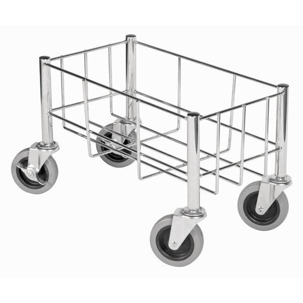 "Winco Winco DWR-1708 Trash Can Cart, Wire Construction, 18-1/2"" x 9-1/2"" x 7"""