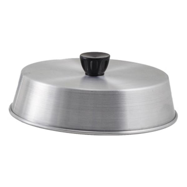 Winco Winco ADBC-8 Grill Basting Cover with Bakelite Handle, Aluminum, 8''