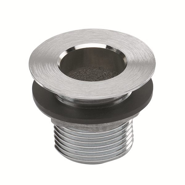 "Krowne Krowne  23-111 Nickel Plated Drain, 1-1/2"" Length"