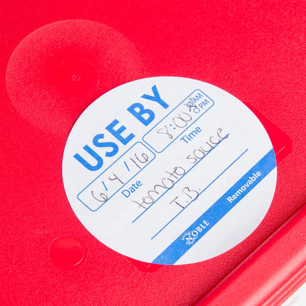 Noble Products Noble Products 322UU4903  Round Removable Label