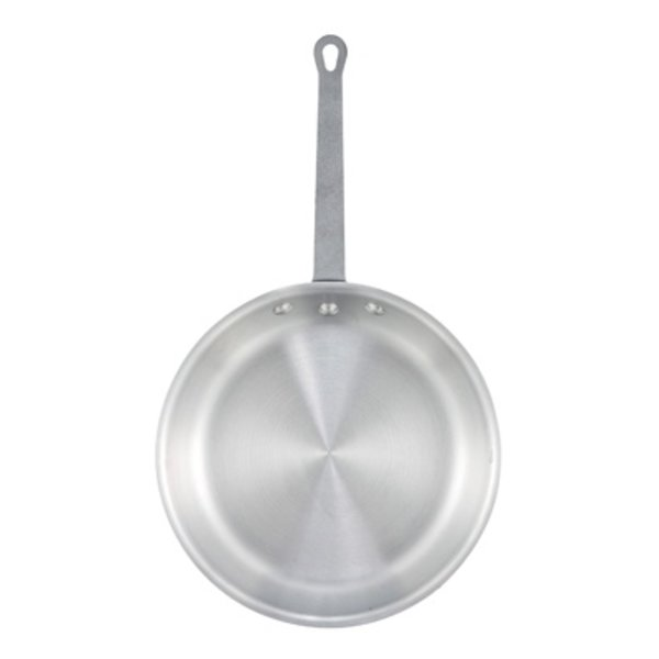 "Winco Winco AFP-10A 10"" Aluminum Fry Pan with Silicone Grip"