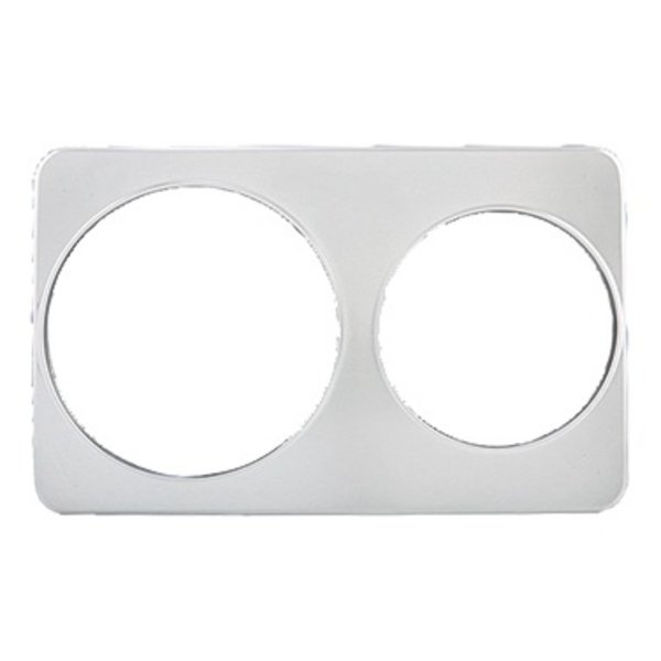 Winco Winco ADP-810 Adapter Plate Two Holes 7 & 11 Qt. Insets