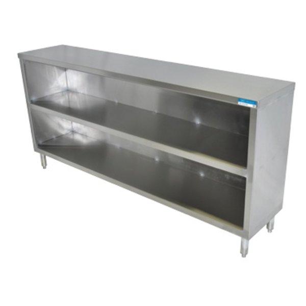 "Klinger's Trading Klinger's Trading DC-1536 Dish Cabinet, Open Base, 36"" W x 15"" D x 34.75"" H"