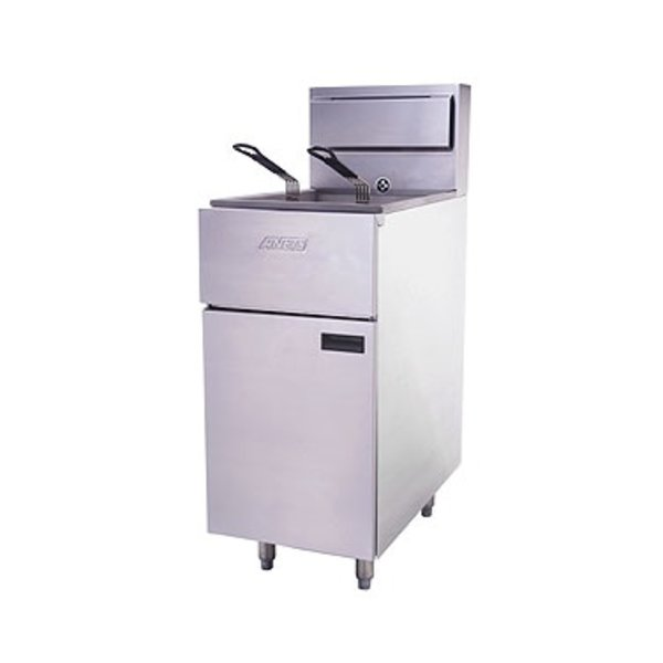 Anets Anets SLG40 35-40 lb. Natural Gas Fryer
