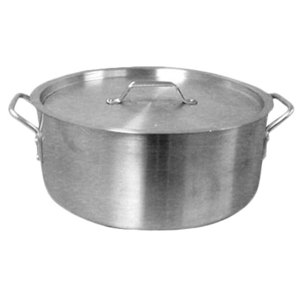 Thunder Group Thunder Group ALSKBP-007 Brazier Pot with Cover, Aluminum, 35 qt.