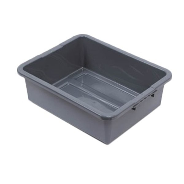 """Royal Industries Royal Industries BT-703 Tote/Bus Box, 1 Compartment, Gray, 7"""""""