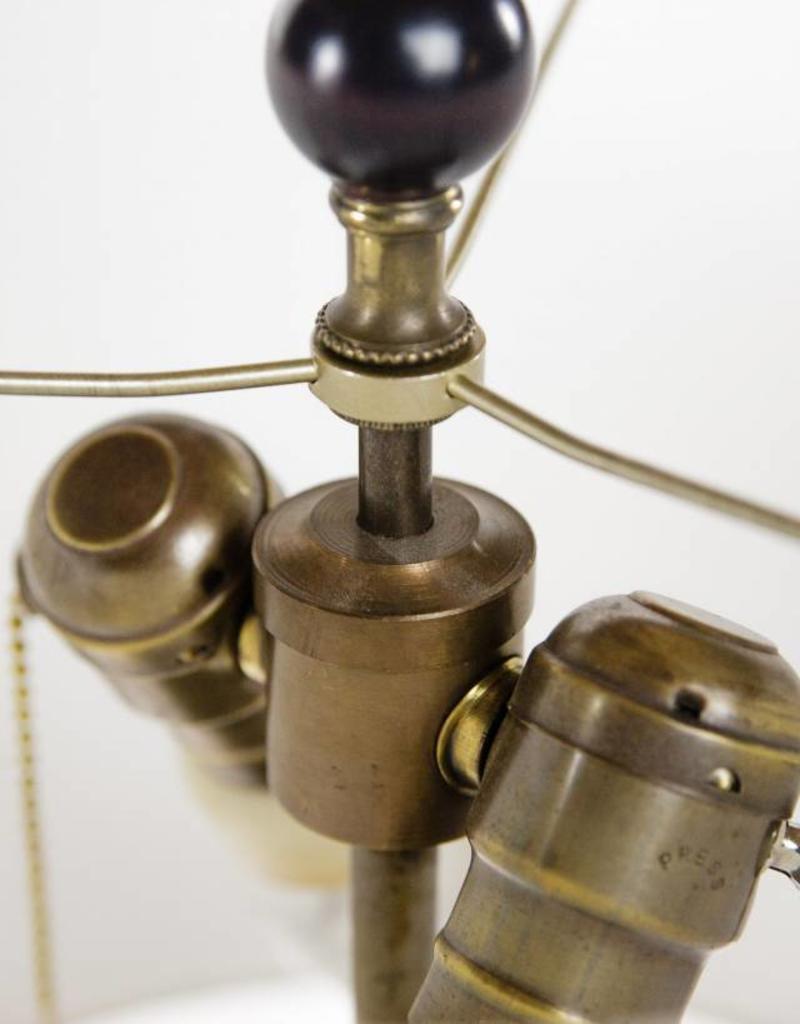 Lawrence & Scott Sakana Table Lamp in Brass