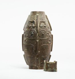 Lawrence & Scott Owl vase
