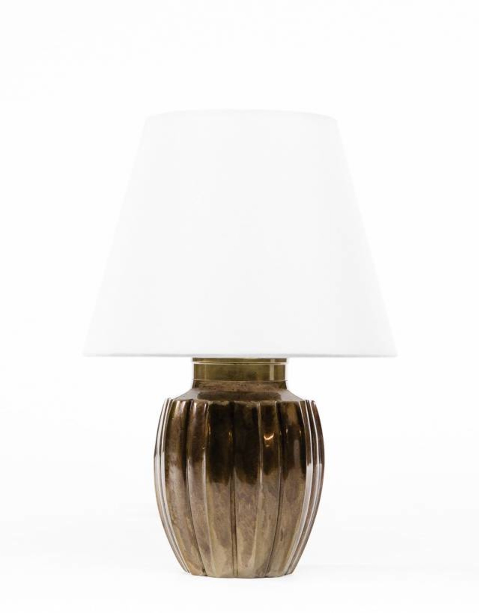 Lawrence & Scott Ocha Table Lamp in Brass
