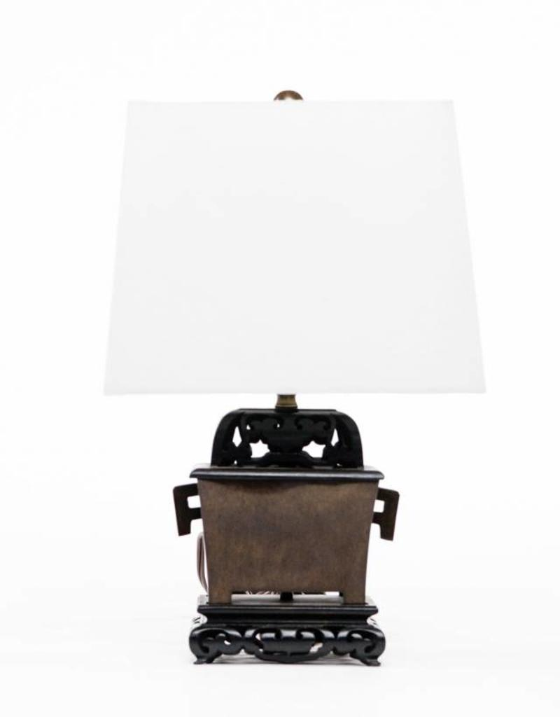 Lawrence & Scott Yoru Table Lamp in Brass