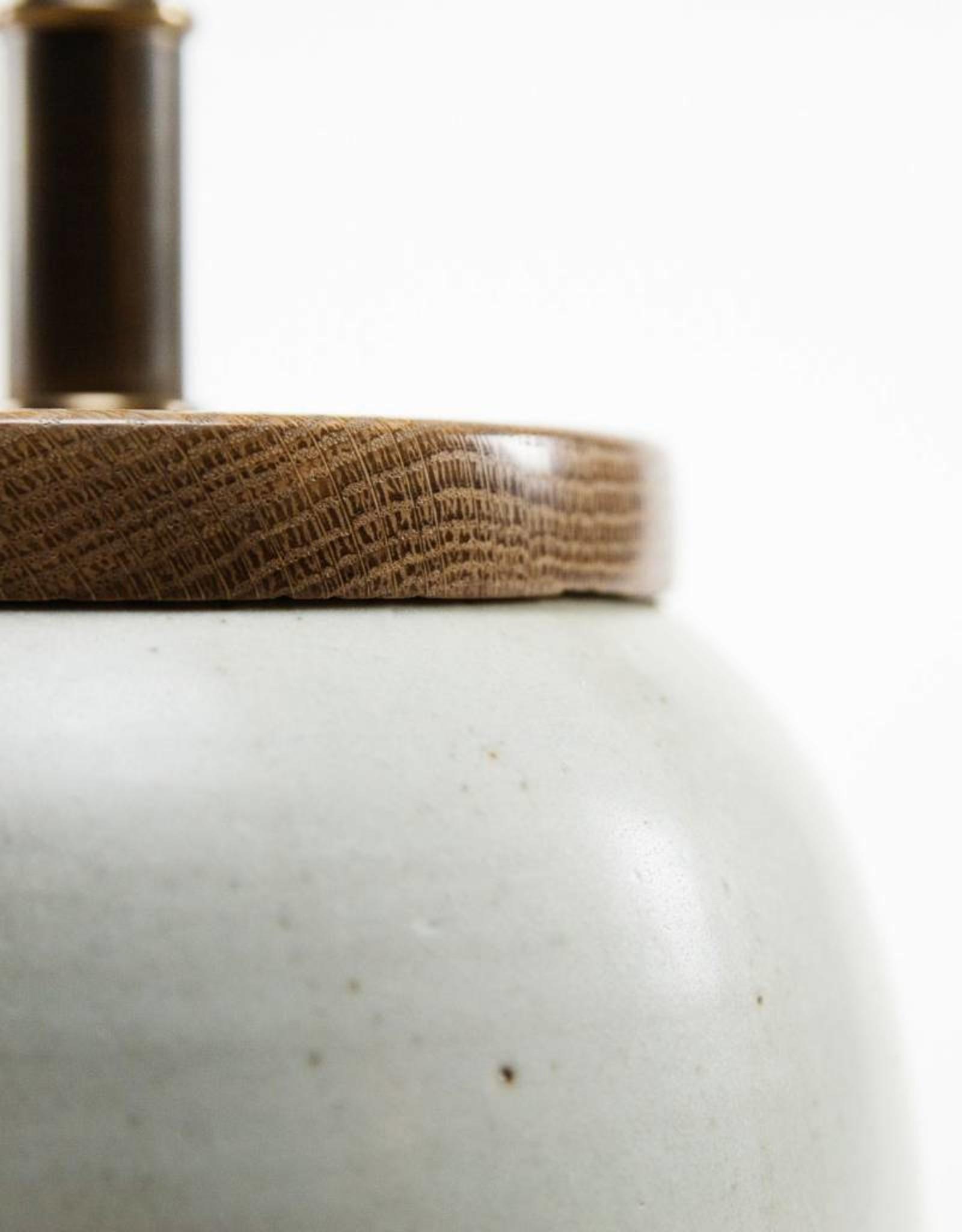 Lawrence & Scott Holden Porcelain Table Lamp (Walnut)