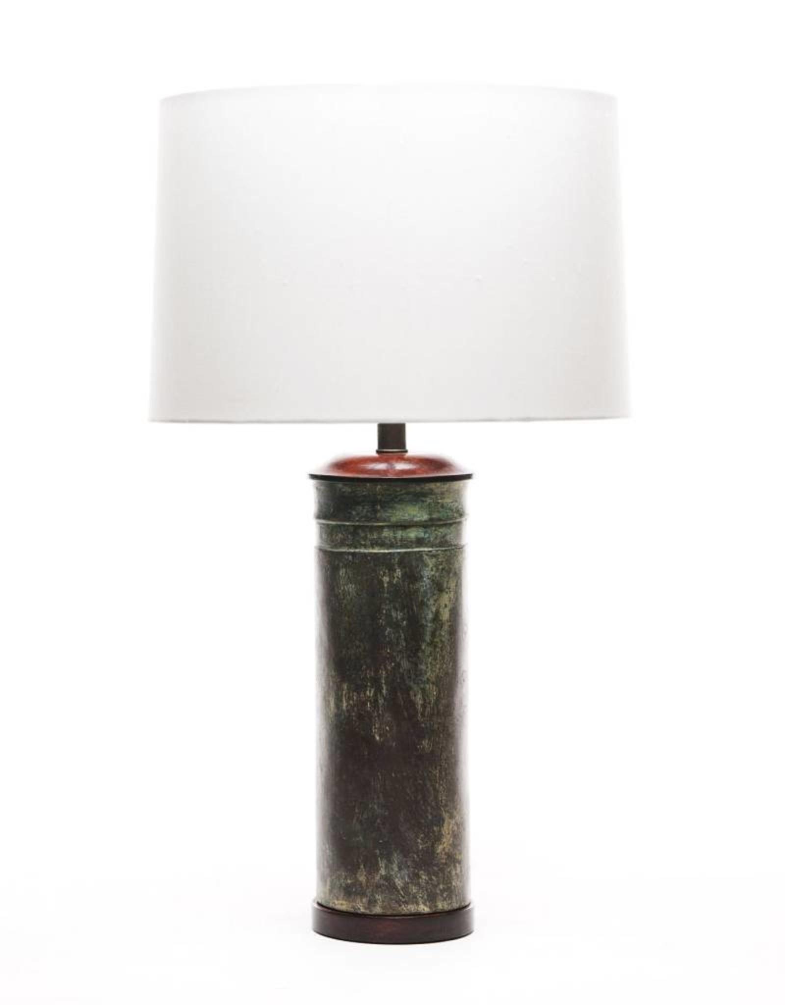Lawrence & Scott Legacy Audra Verdigris Bronze Table Lamp
