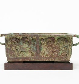 Lawrence & Scott Patinated Incense Burner