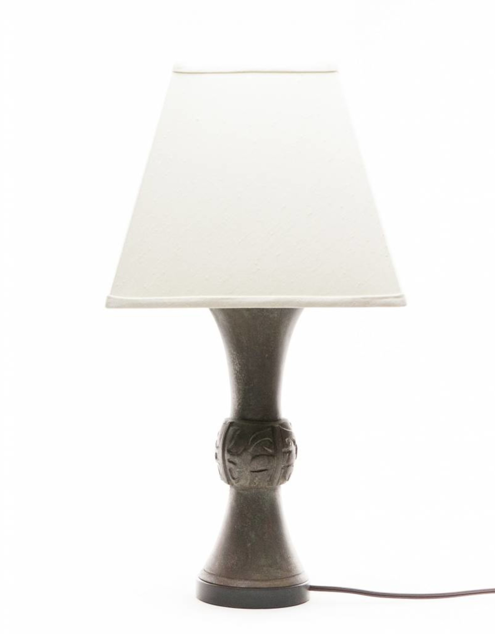 Lawrence & Scott Katana Table Lamp in Archaic Bronze