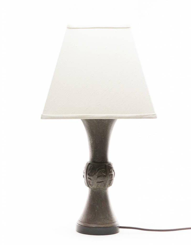 Lawrence & Scott Katana Table Lamp in Archaic Bronze