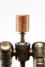 Lawrence & Scott Hagen Table Lamp in Archaic Bronze