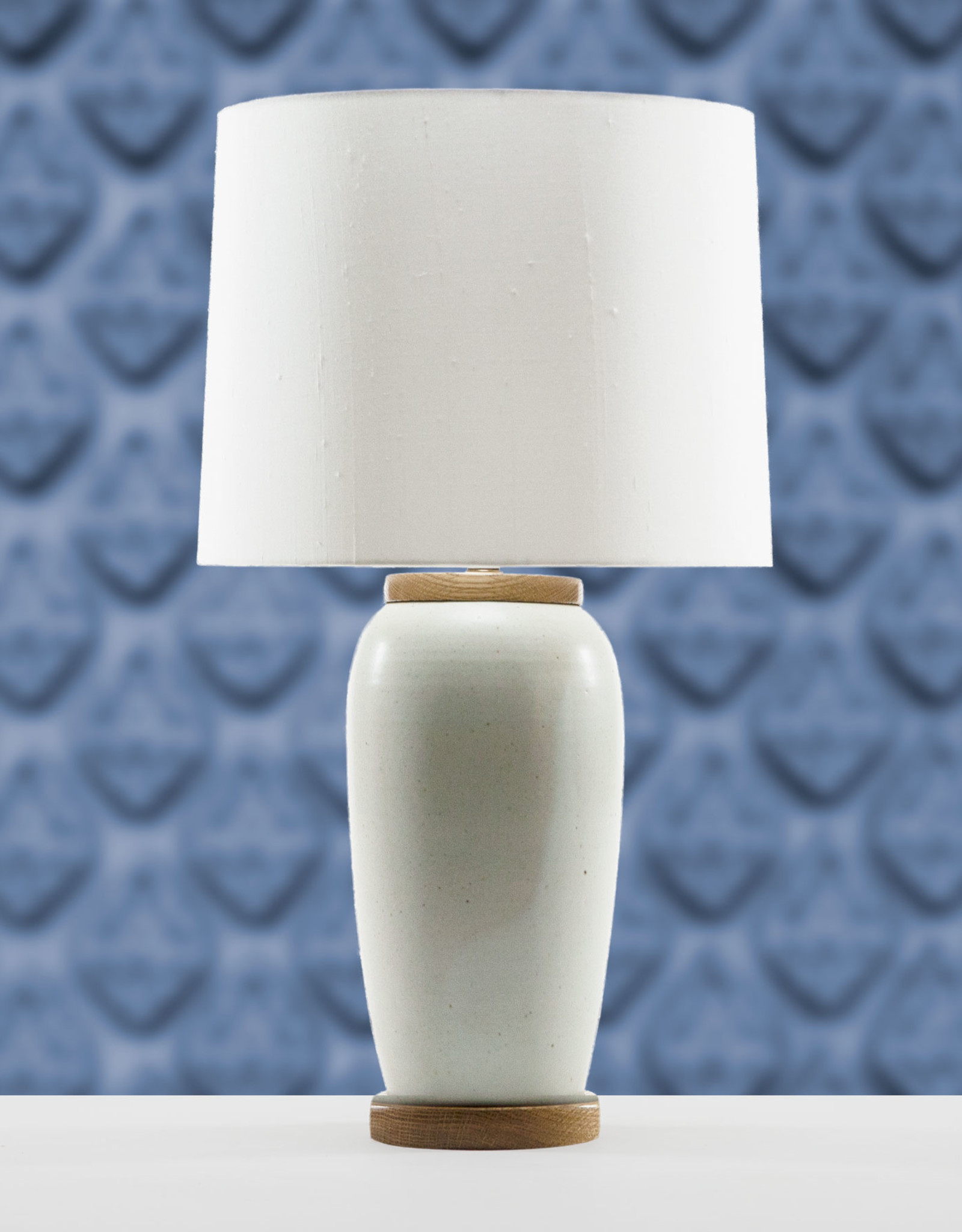 Lawrence & Scott Holden Porcelain Table Lamp (White Oak)