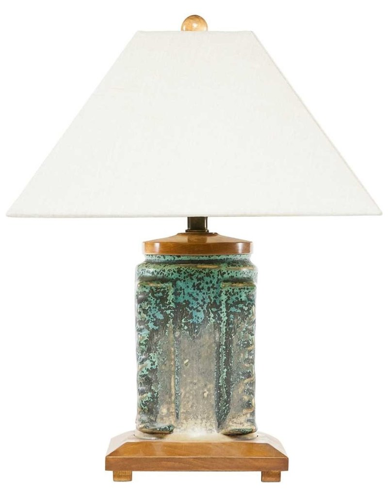 Lawrence Scott Tsun Craftsman Porcelain Lamp