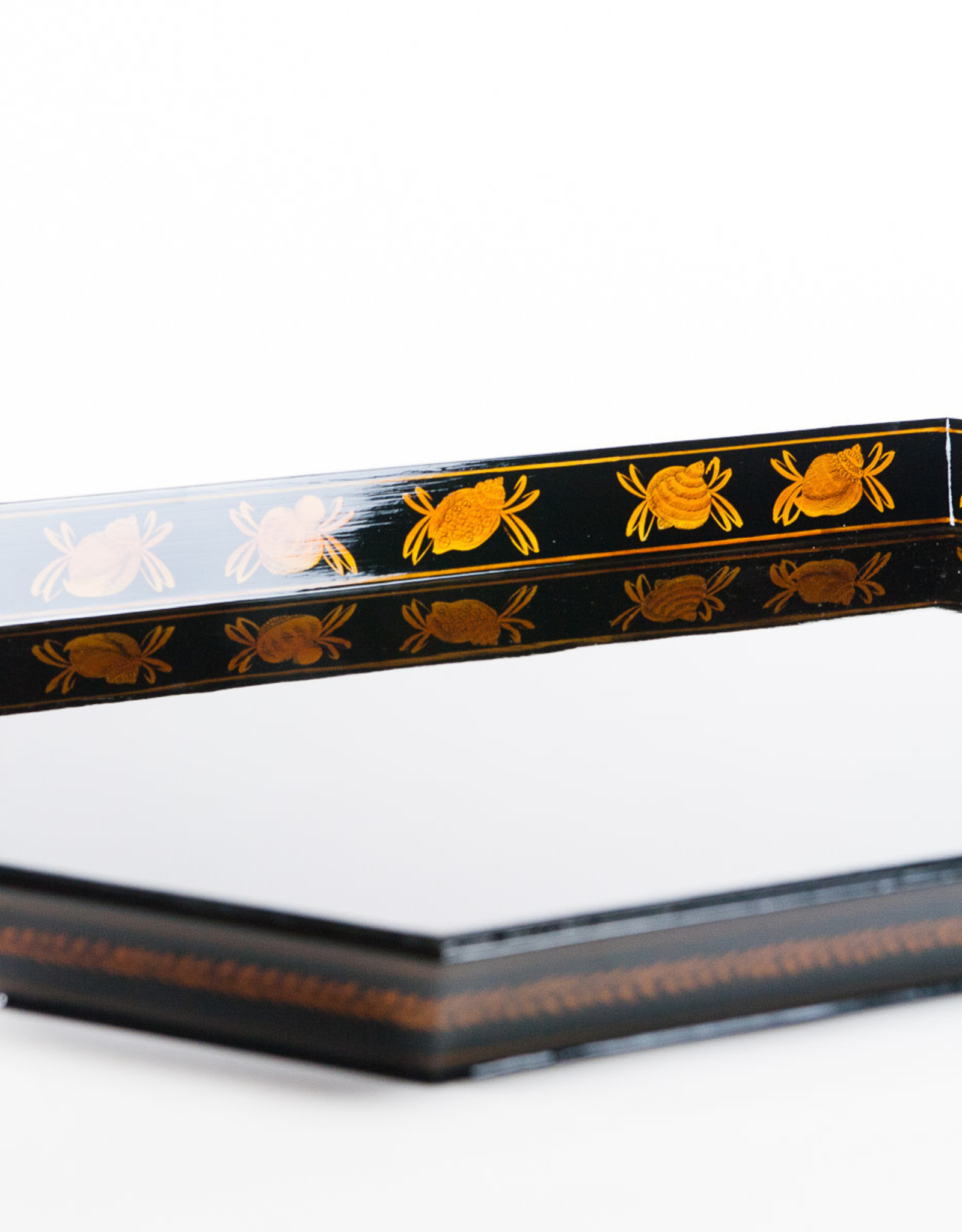 Lawrence & Scott Handcrafted Natural Tree Lacquer Tray