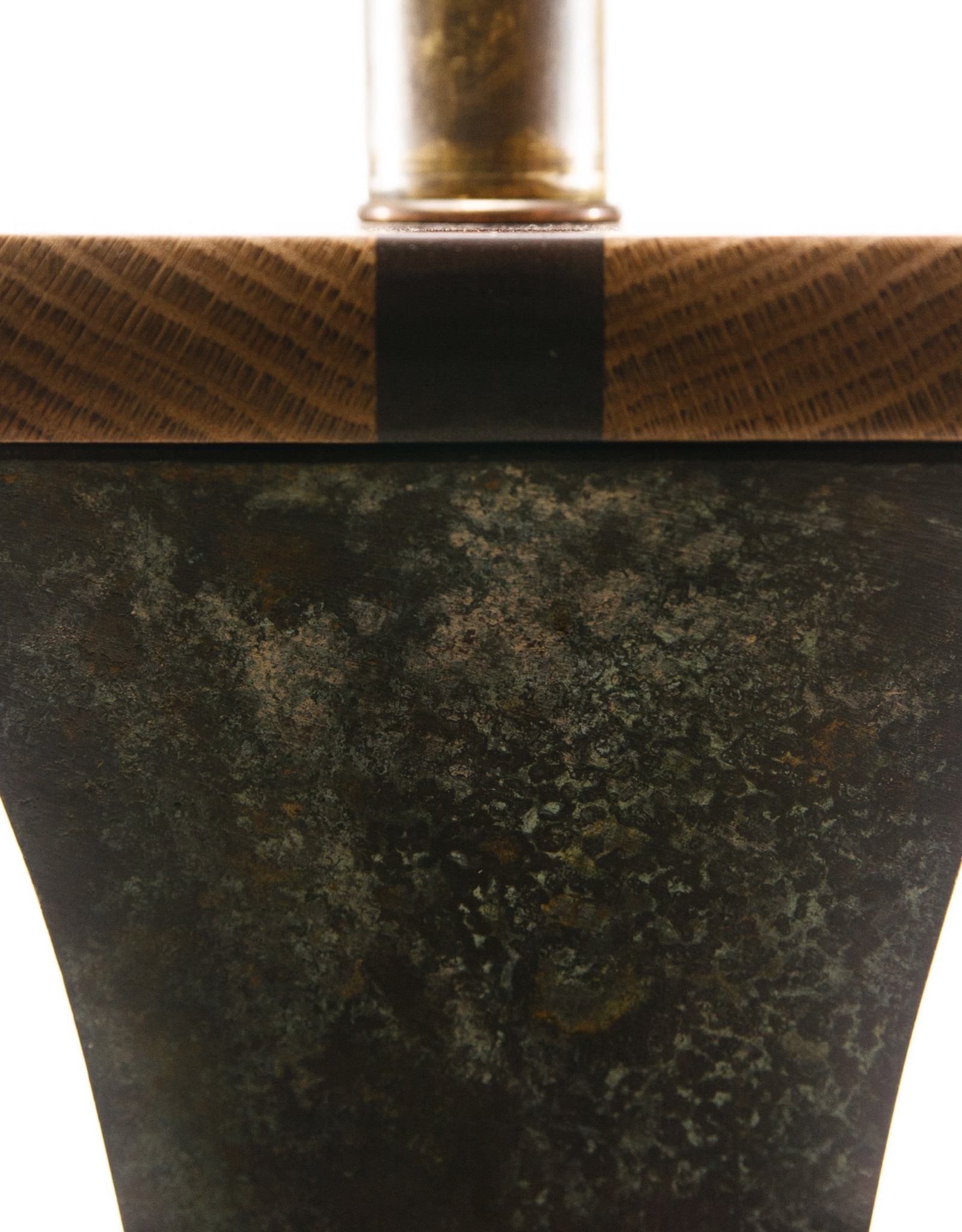 Lawrence & Scott Komorebi Floor Lamp in Archaic Bronze