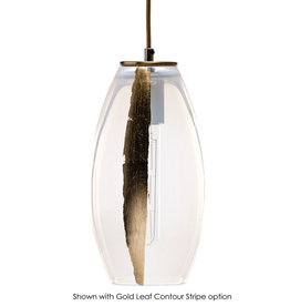 LUMI Collection Elettra Pendant in Opaline