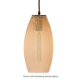 LUMI Collection LUMI Collection Elettra Pendant in Rose Quartz
