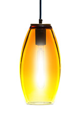 LUMI Collection Elettra Pendant in Gold Topaz