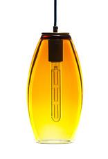 LUMI Collection Elettra Pendant in Gold Topaz