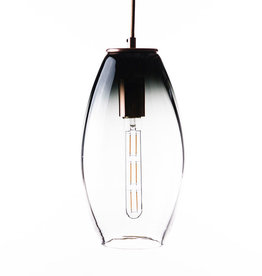 LUMI Collection Elettra Pendant in Gray Fade