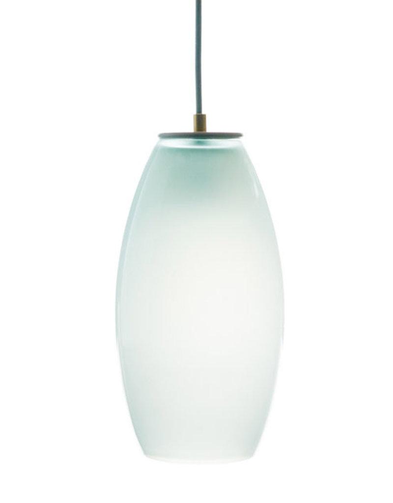 LUMI Collection Elettra Pendant in Celadon Green