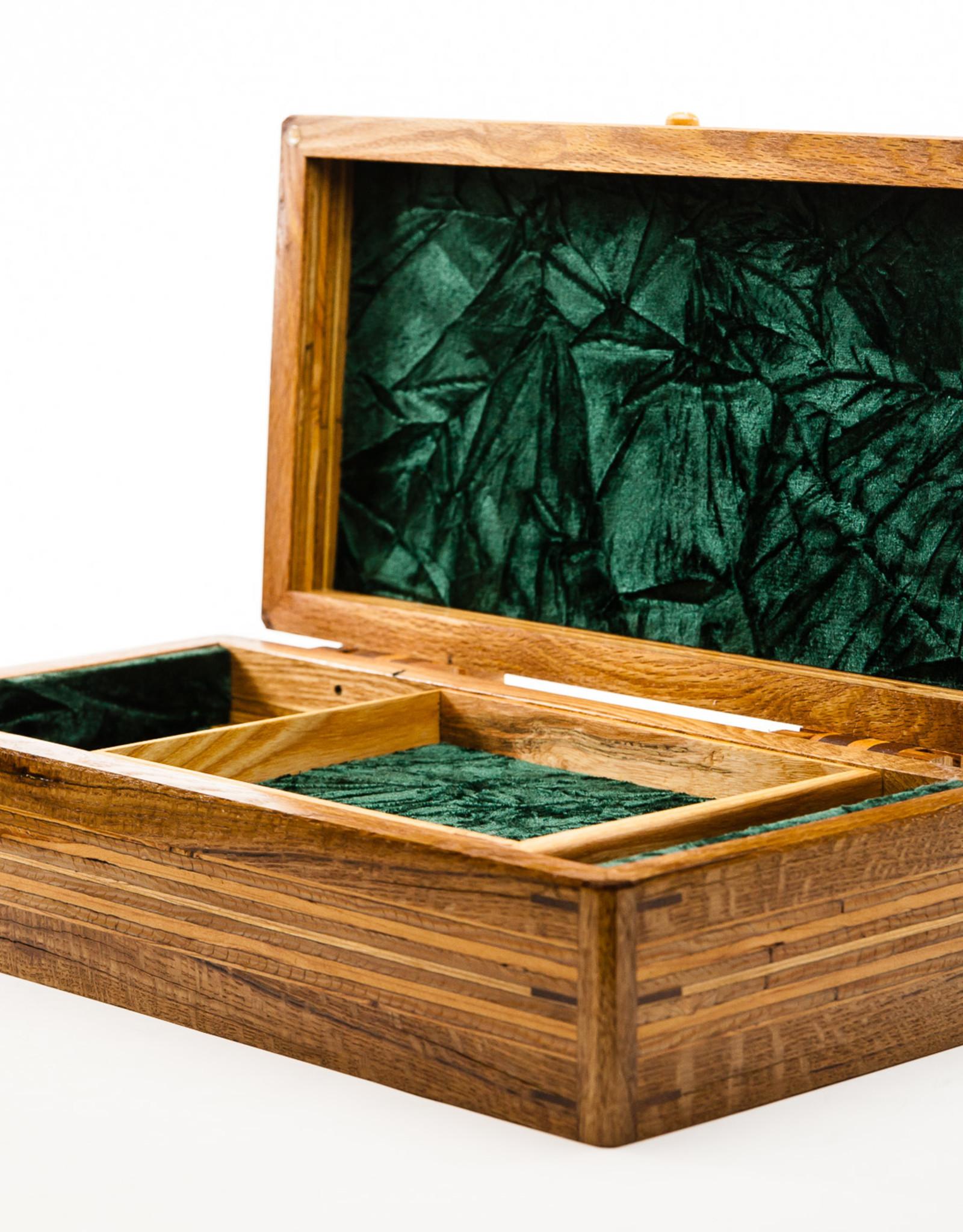 "Lawrence & Scott Master Series Jewelry Box 16"""