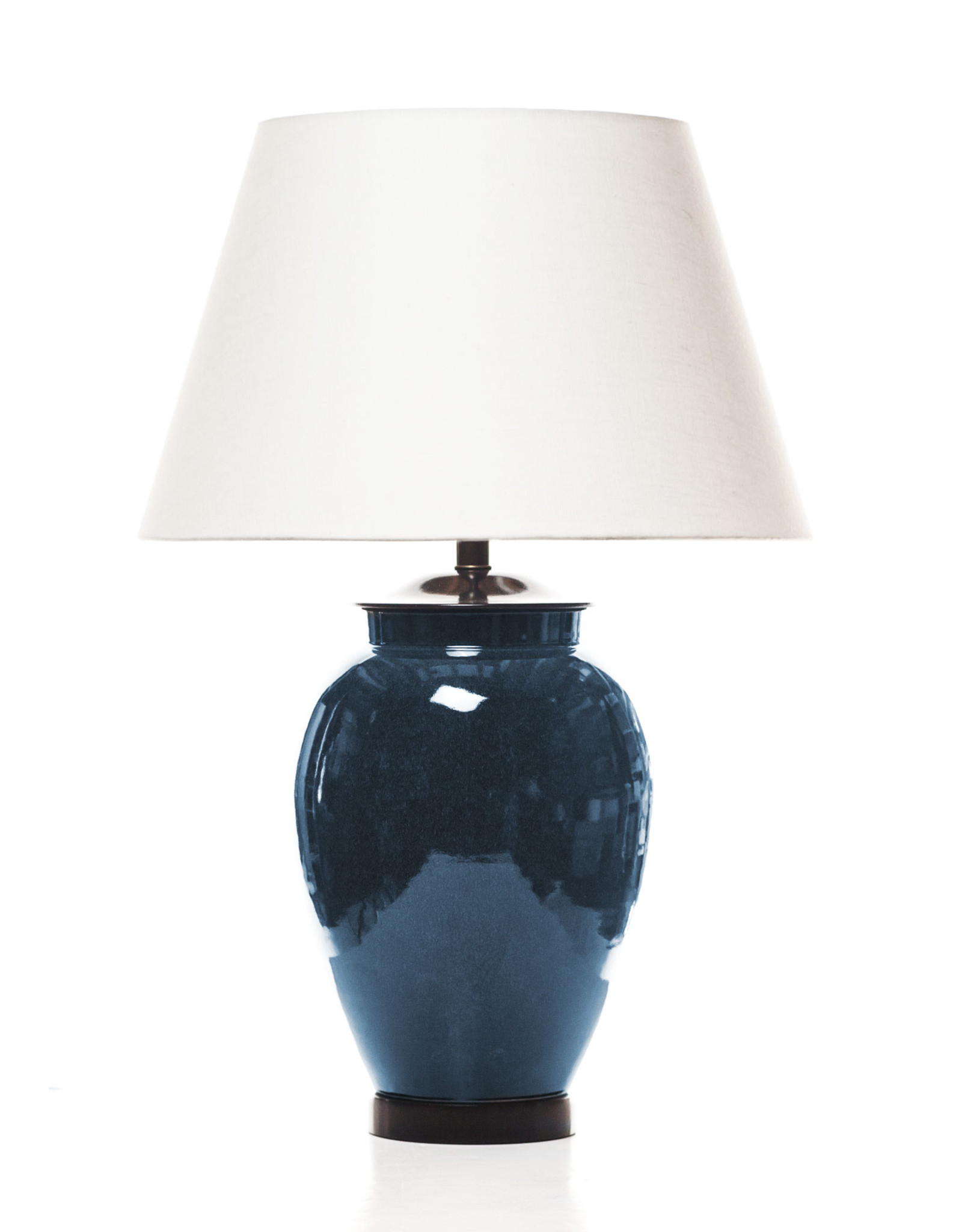 Lawrence & Scott Legacy Sybil Porcelain Ocean Glaze Table Lamp
