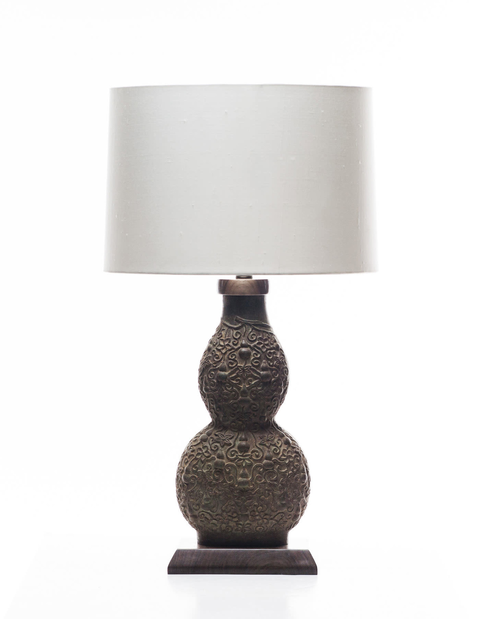 Lawrence & Scott Marilyn Verdigris Bronze Table Lamp