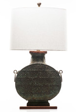 Lawrence & Scott Daria Table Lamp in Archaic Bronze