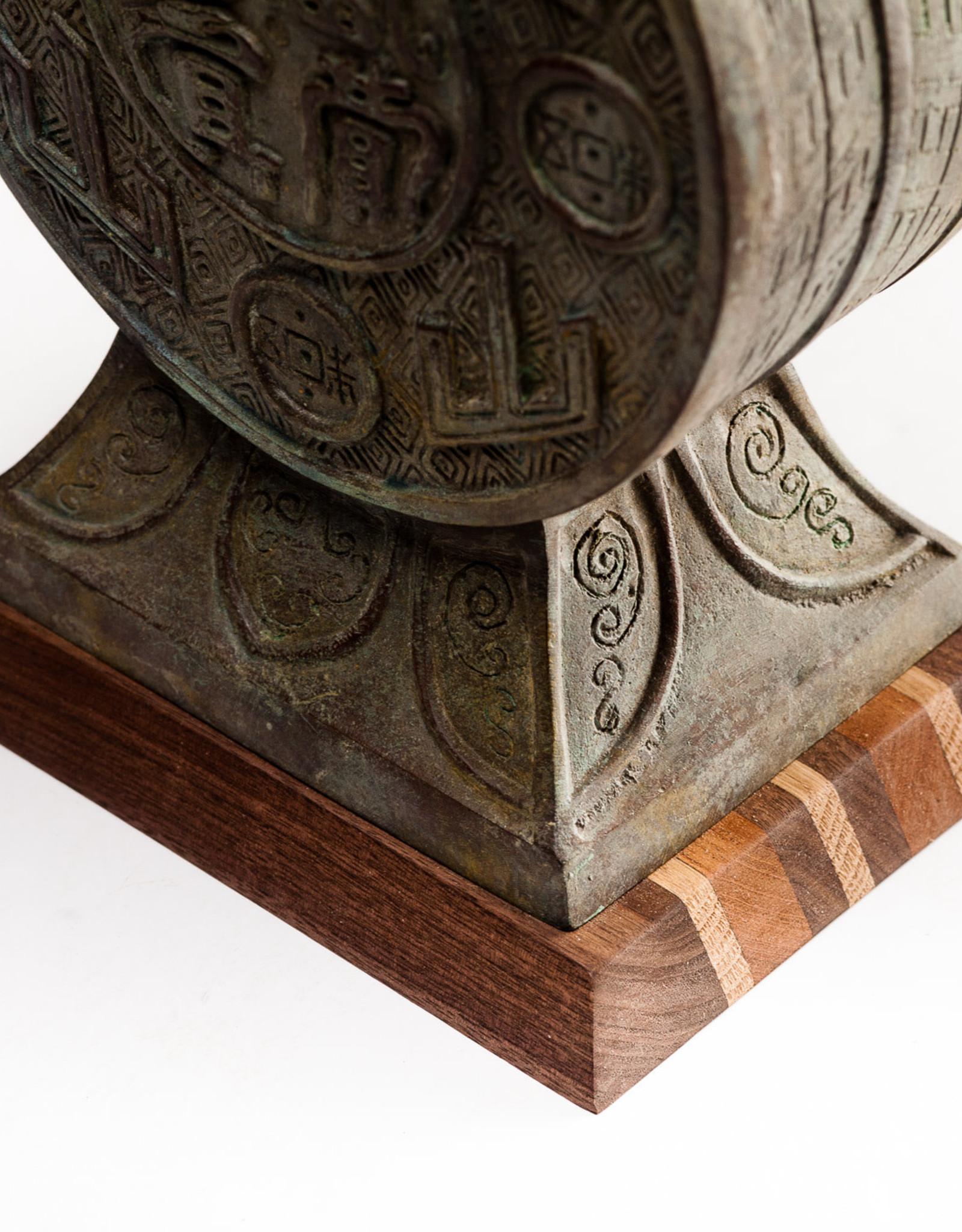Lawrence & Scott Emersyn Table Lamp in Archaic Bronze