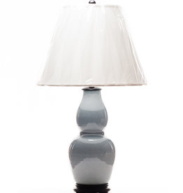 Lawrence & Scott Legacy Scarlett Table Lamp in Gray