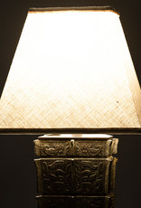 Lawrence & Scott Nelson Table Lamp in Archaic Bronze