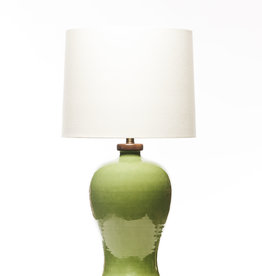 Lawrence & Scott Dashiell Table Lamp in Celadon (Walnut)