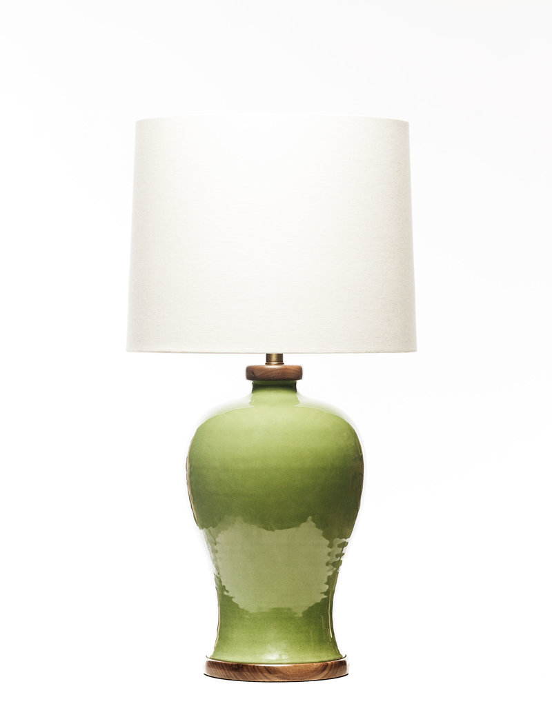 Lawrence & Scott Dashiell Table Lamp in Celadon