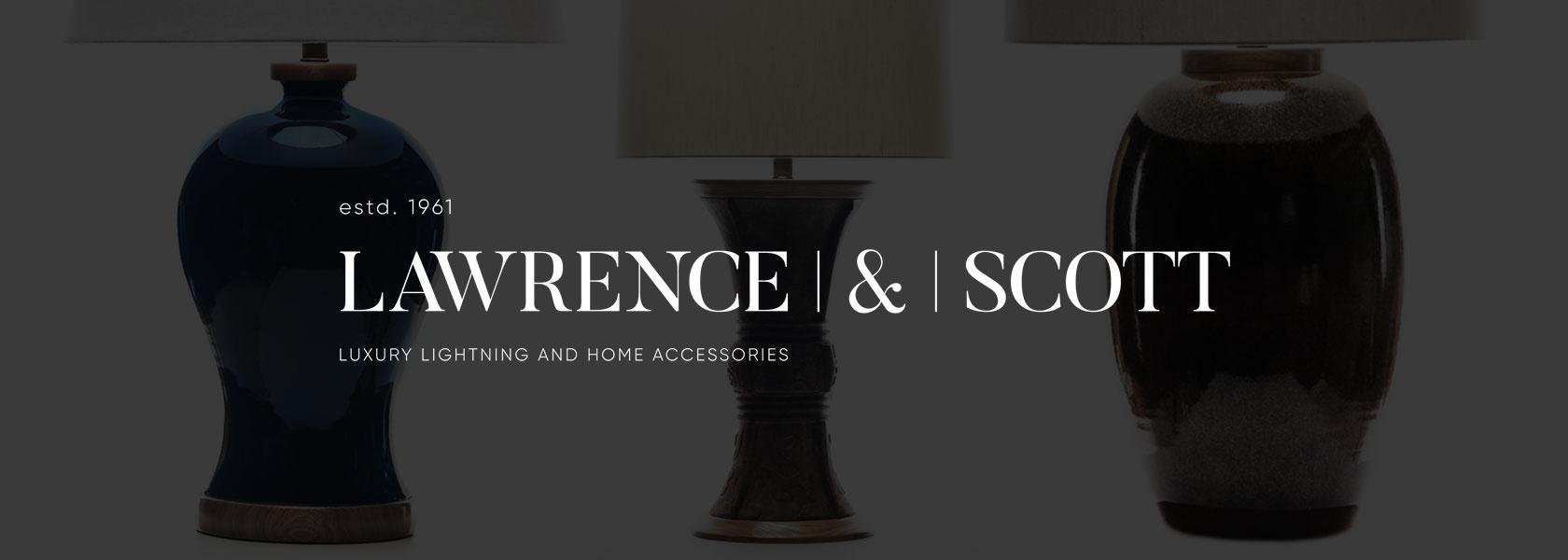 Lawrence & Scott Luxury Porcelain Table Lamps