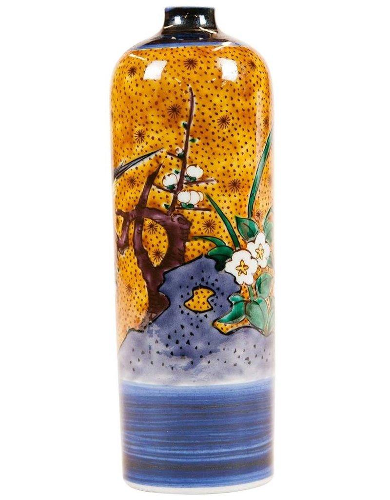 Lawrence & Scott Japanese Kutani Bird vase